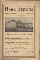 Picture of Milan Čurčin, urednik: Nova Evropa, svibanj  1923