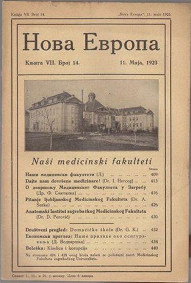 Picture of Milan Curcin, urednik: Nova Evropa, svibanj  1923