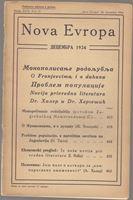 Picture of Milan Curcin, urednik: Nova Evropa, prosinac 1934