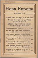 Picture of Milan Curcin, urednik: Nova Evropa, studeni 1934