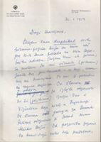 Picture of Marko Ristic: Pismo s potpisom