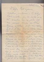 Picture of Oskar Davico: Pismo s potpisom