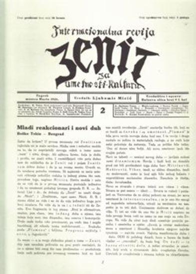Picture of Ljubomir Micić, urednik: Zenit 2 - reprint