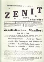 Picture of Ljubomir Micic, urednik: Zenit 5 - reprint