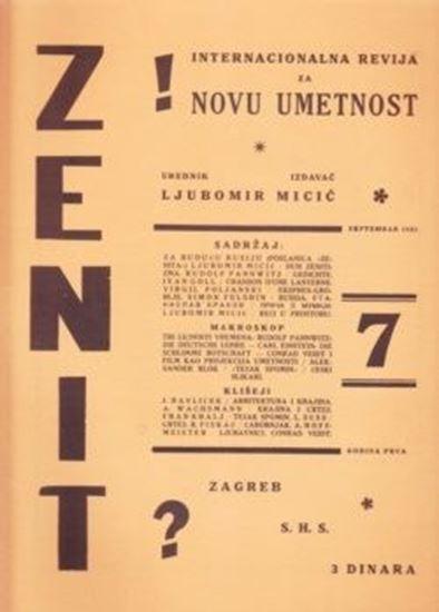 Picture of Ljubomir Micic, urednik: Zenit 7 - reprint
