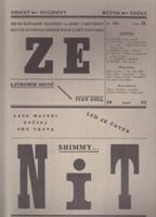 Picture of Ljubomir Micić, urednik: Zenit 12 - reprint