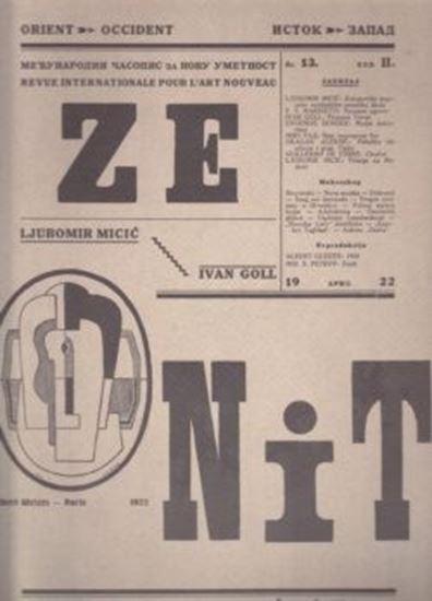 Picture of Ljubomir Micic, urednik: Zenit 13 - reprint