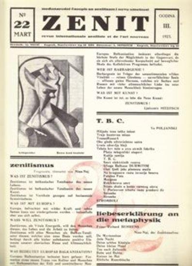 Picture of Ljubomir Micic, urednik: Zenit 22 - reprint