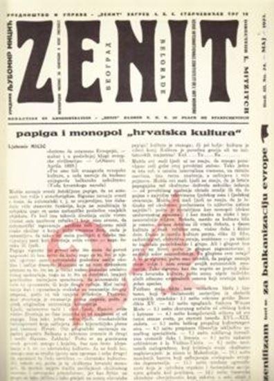 Picture of Ljubomir Micic, urednik: Zenit 24 - reprint