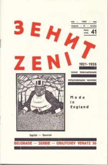 Picture of Ljubomir Micic, urednik: Zenit 41 - reprint