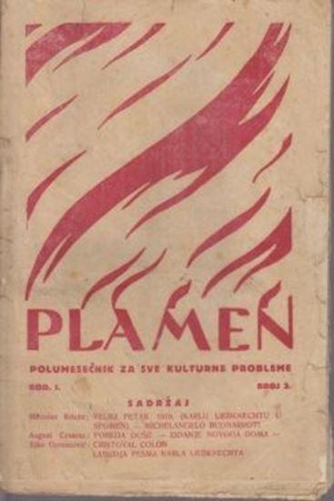 Picture of Miroslav Krleža, urednik: Plamen, broj 3.