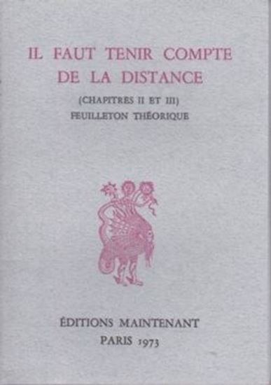 Picture of Il faut tenir compte de la distance (chapitres II et III)