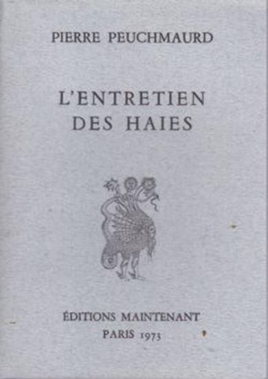 Picture of Pierre Peuchmaurd: L'entretien des haies