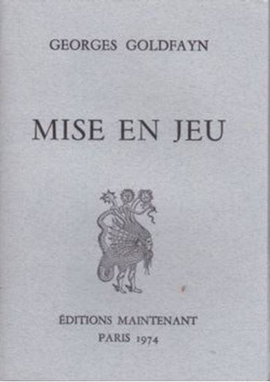Picture of Georges Goldfayn: Mise en jeu
