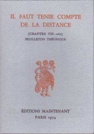Picture of  Il faut tenir compte de la distance (chapitre VIII - suite) feuilleton théorique,