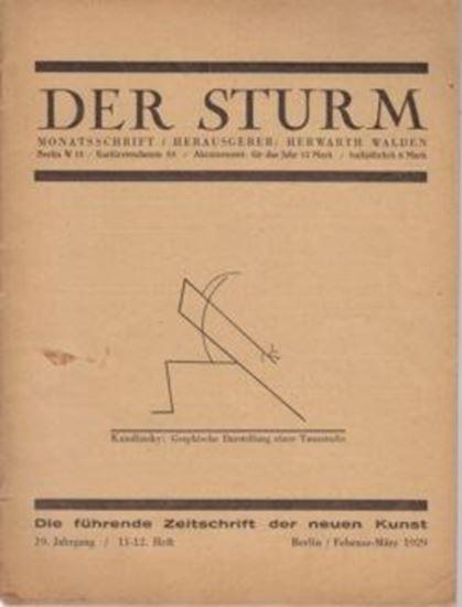 Picture of Der Sturm - 19. Jahrgang / 11-12. Heft