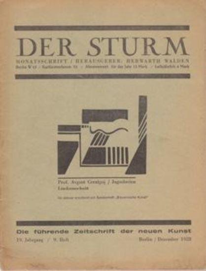 Picture of Der Sturm - 19. Jahrgang / 9. Heft