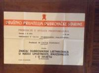 Picture of Drustvo prijatelja dubrovacke starine: Dubrovacki poliptihon, predavanje - plakat