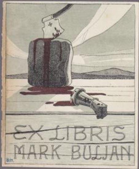 Picture of Oton Ušaj : Ex Libris, Mark Buljan