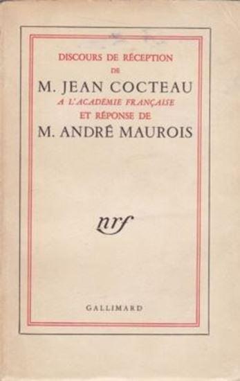 Picture of Jean Cocteau & Andre Maurois: Discours de réception