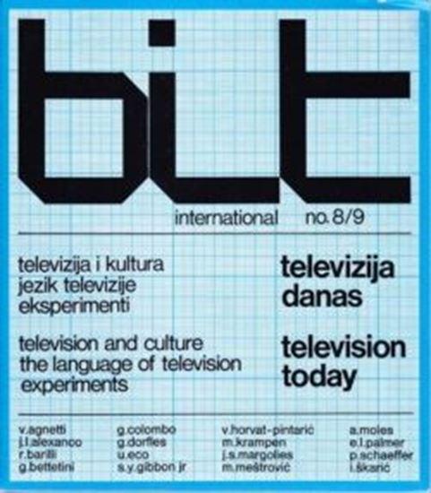 Picture of Božo Bek, glavni urednik: Bit International 8-9