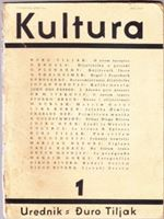 Picture of Duro Tiljak, urednik: Kultura - broj 1.