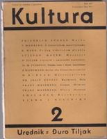 Picture of Đuro Tiljak, urednik: Kultura - broj 2.