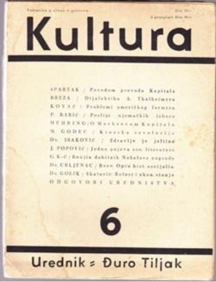 Picture of Duro Tiljak, urednik: Kultura - broj 6.