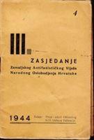 Picture of III. zasjedanje ZAVNOH-a