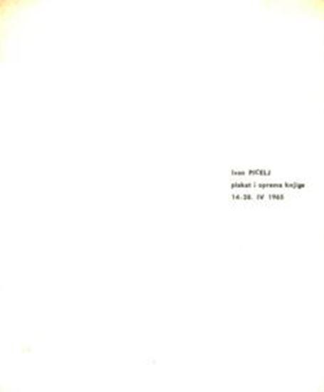 Picture of Ivan Picelj: Plakat i oprema knjige