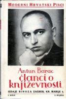 Picture of Antun Barac: Članci o književnosti