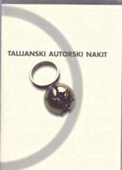 Picture of Vladimir Maleković : Talijanski autorski nakit