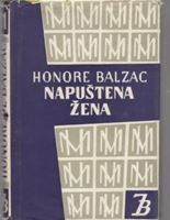 Picture of Honore de Balzac: Napustena zena