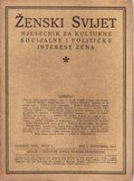 Picture of Zofka Kveder: Ženski svijet 3 / 1917