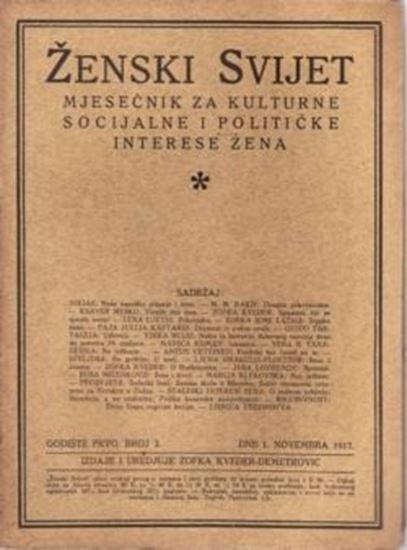 Picture of Zofka Kveder: Zenski svijet 3 / 1917