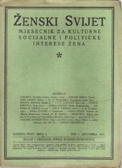 Picture of Zofka Kveder: Zenski svijet 4 / 1917