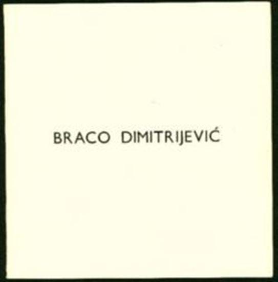 Picture of Braco Dimitrijević: Galerija Suvremene Umjetnosti 1973.