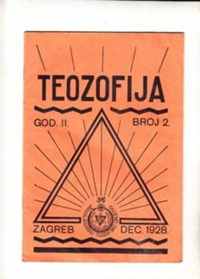 Picture of Bozidar Prikril, urednik: Teozofija 2 / II