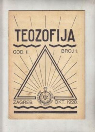 Picture of Božidar Prikril, urednik: Teozofija 1 / II