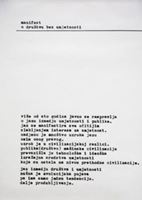 Picture of Mangelos: manifest; o društvu bez umjetnosti