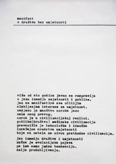 Picture of Mangelos: manifest; o drustvu bez umjetnosti