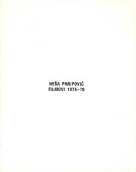 Picture of Nesa Paripovic: Filmovi 1975-78