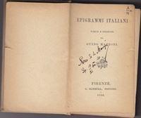 Picture of Xeres de la Maraja / Milan Begović, potpis: Epigrami Italiani - Guido Mazzoni