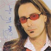Picture of Steve Vai autograph / potpis: CD Real Illusions:Reflections-potpis Steve Vai