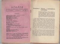 Picture of Jovan Popović, urednik: Stožer, dvobroj 7-8. Godina 1932.