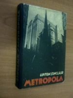 Picture of Upton Sinclair: Metropola