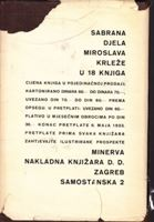 Picture of Miroslav Krleža: Hiljadu i jedna smrt