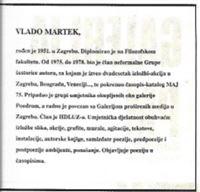 Picture of Vlado Martek: Galerija CM Osijek 1990