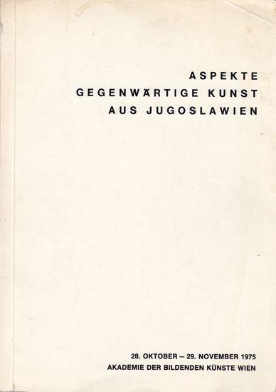 Picture of Aspekte gegenwartige Kunst aus Jugoslawien, 1975.