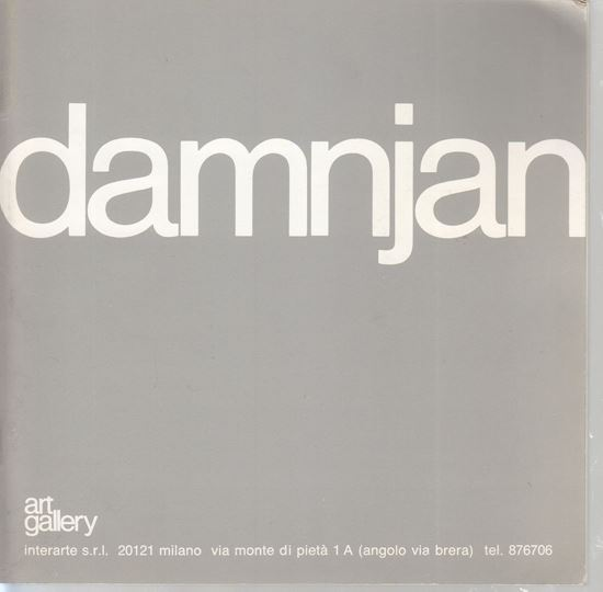 Picture of Damnjan: Art Gallery, Milano 1982.